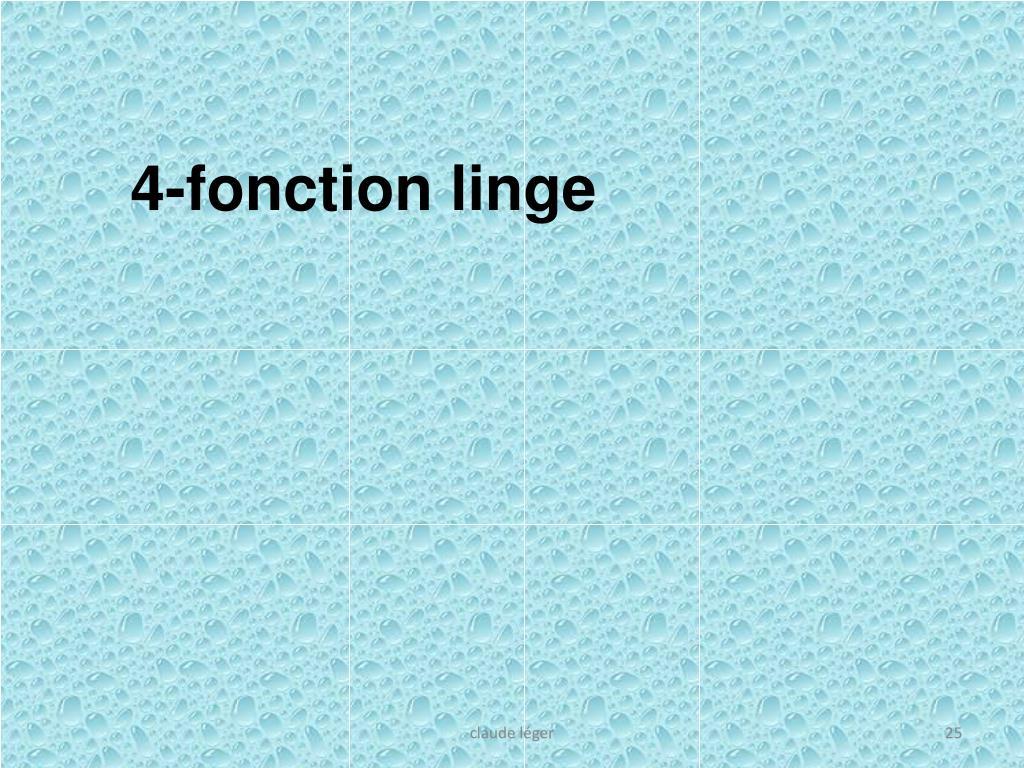 4-fonction linge