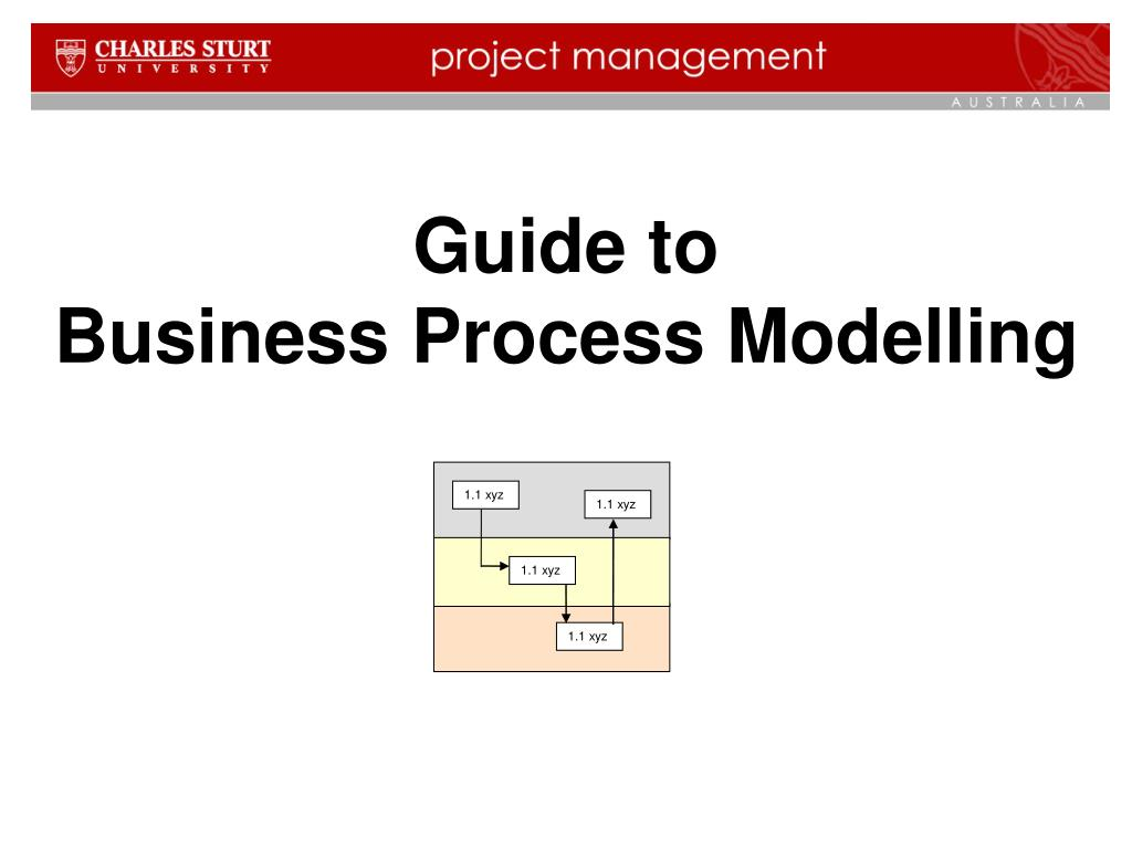 guide to business process modelling l.