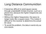 long distance communiction2