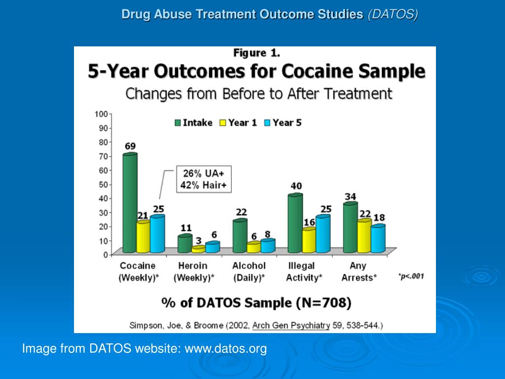 Drug Abuse Treatment Outcome Studies