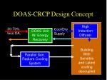 doas crcp design concept