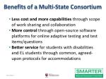benefits of a multi state consortium
