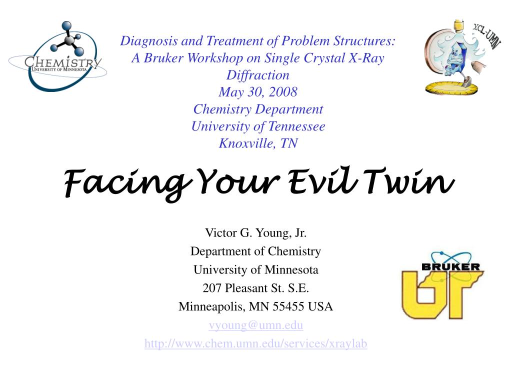 facing your evil twin l.