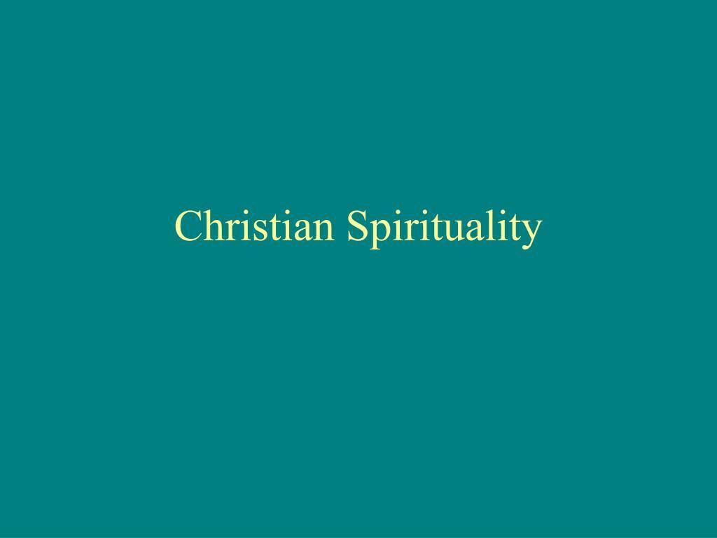 christian spirituality l.