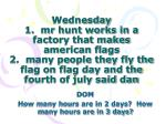 dom how many hours are in 2 days how many hours are in 3 days