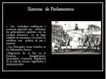 sistema de parlamentos