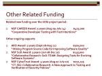 other related funding