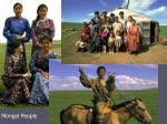 mongol people