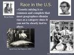 race in the u s
