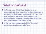 what is vxworks