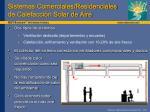 sistemas comerciales residenciales de calefacci n solar de aire