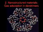 2 nanostructured materials gas adsorption in dendrimers82