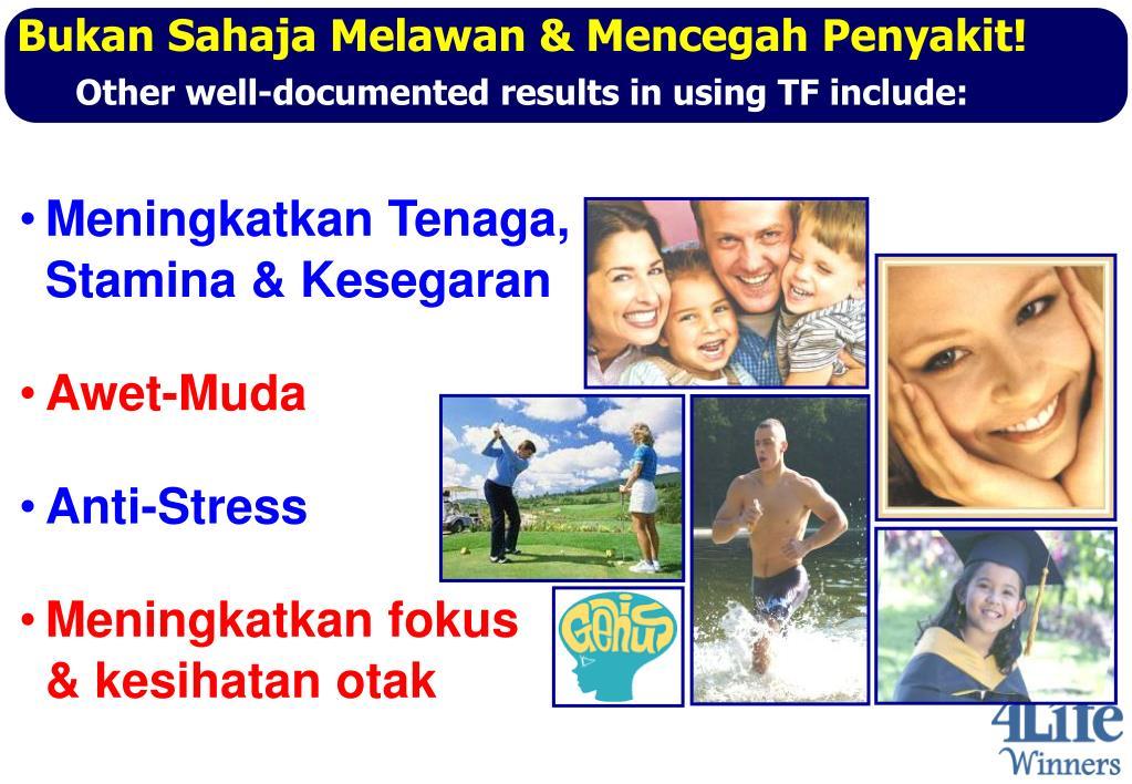Bukan Sahaja Melawan & Mencegah Penyakit!