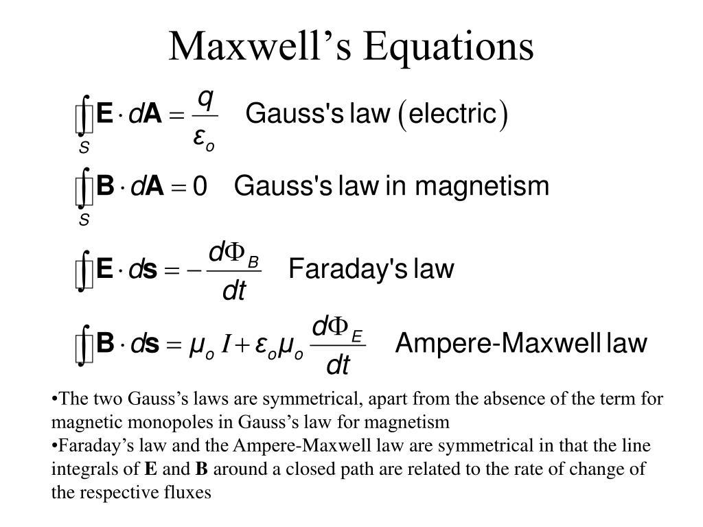 maxwell s equations l.