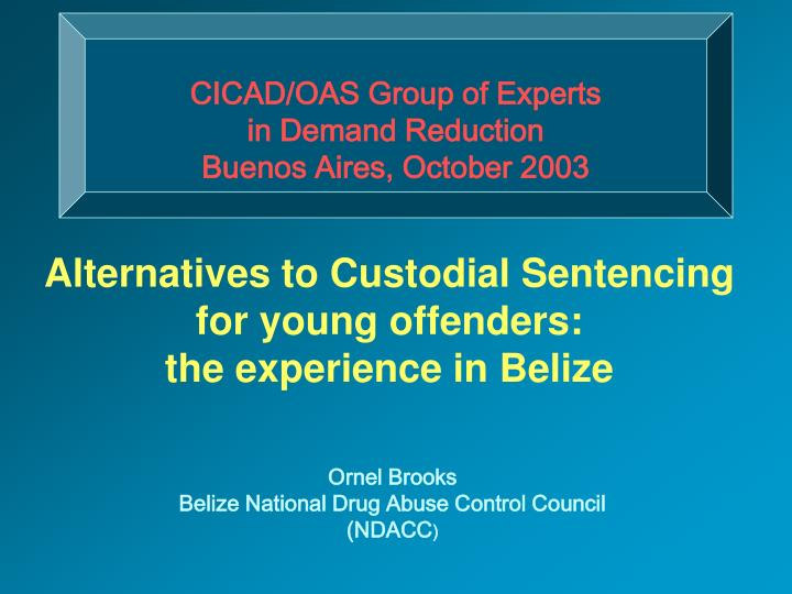 CICAD/OAS Group of Experts