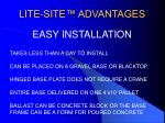 lite site advantages8
