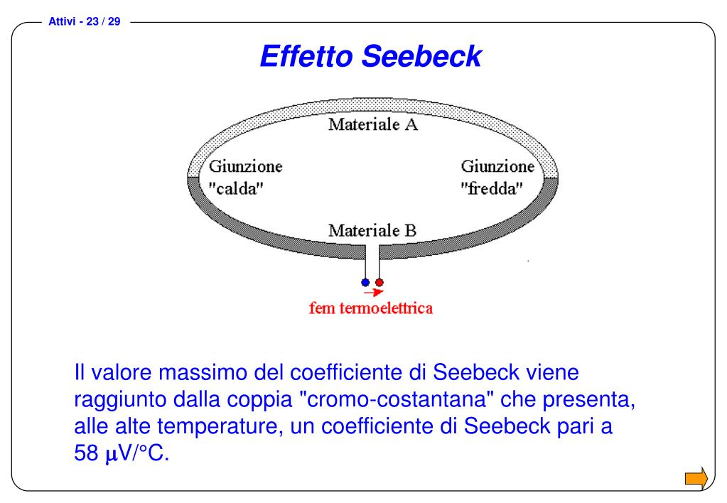 Effetto Seebeck