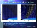jet formation simulation