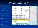visualization gui