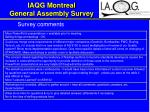 iaqg montreal general assembly survey17