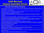 iaqg montreal general assembly survey18