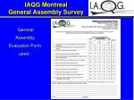 iaqg montreal general assembly survey3