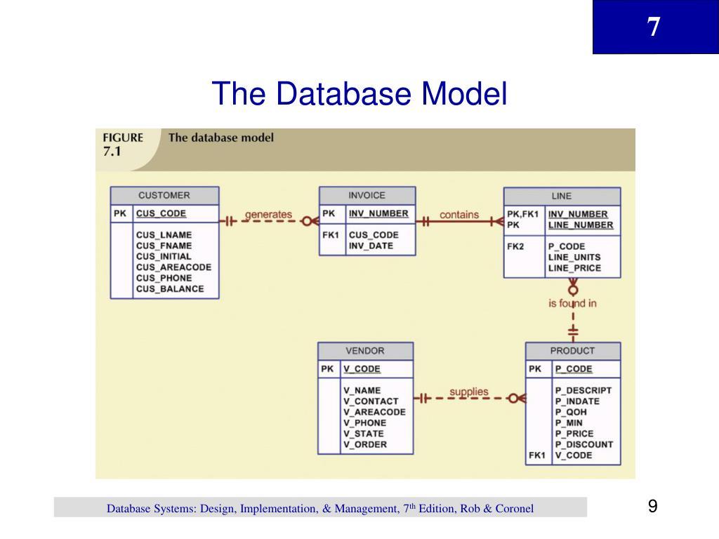 The Database Model