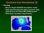 hurricane ivan simulations 2