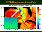 seed moorings and ivan path
