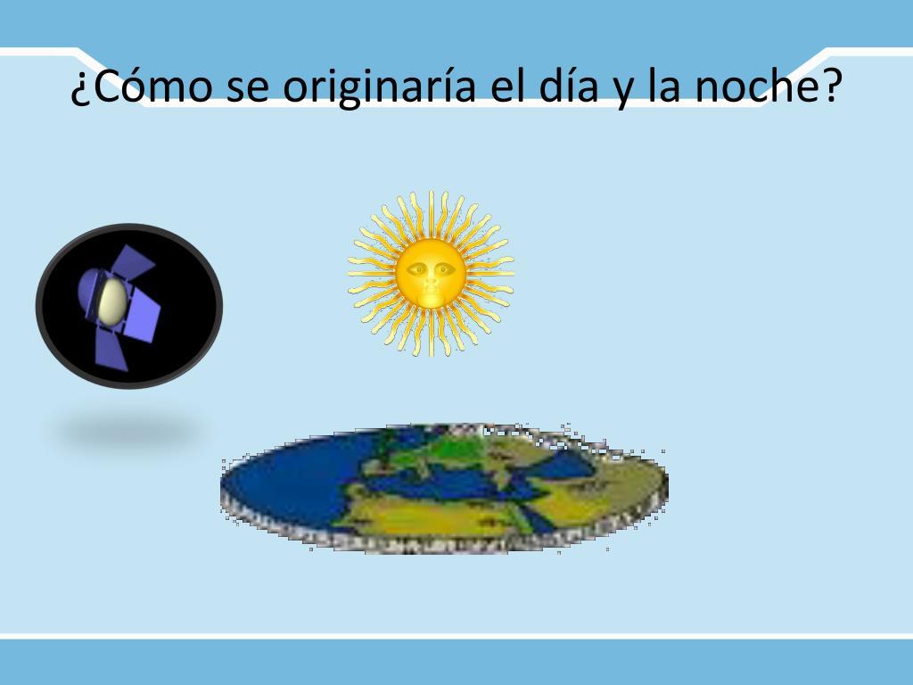 ¿Cómo se originaría el día y la noche?