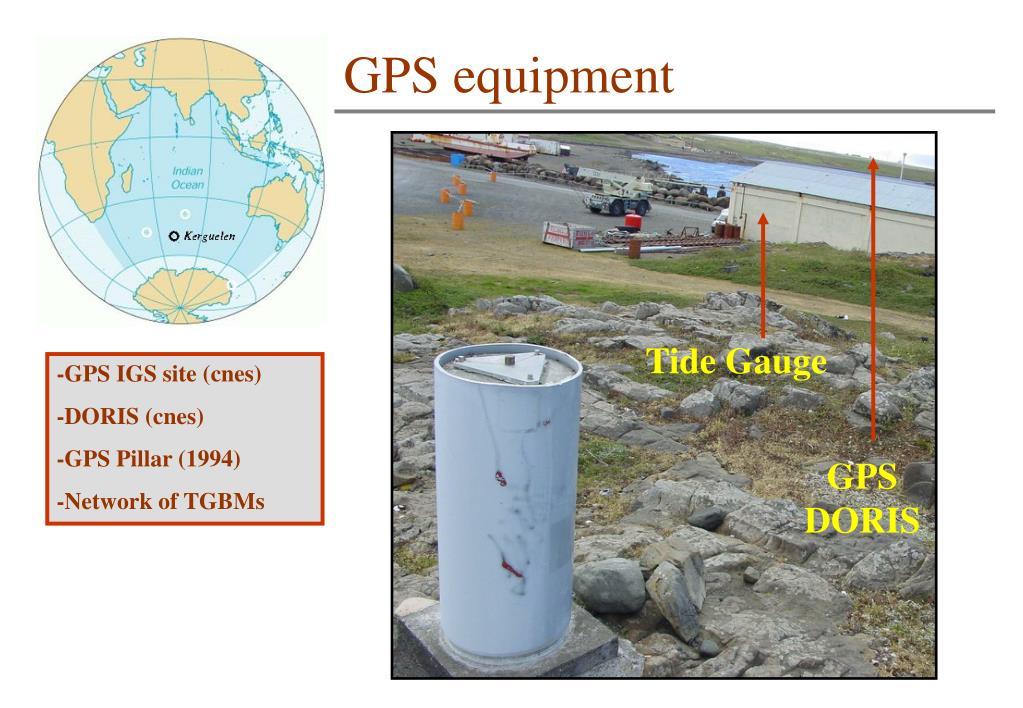 GPS equipment
