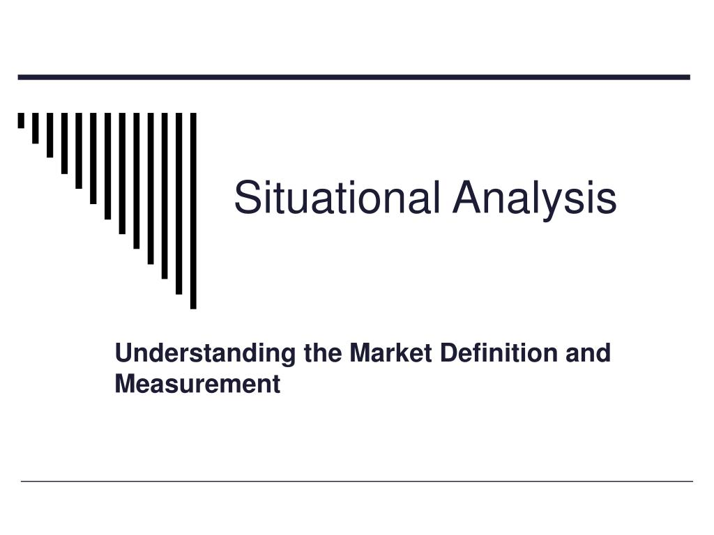 situational analysis l.