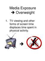 media exposure overweight
