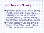 law ethics and morality9