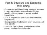 family structure and economic well being4