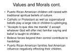 values and morals cont13