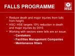 falls programme