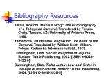 bibliography resources14
