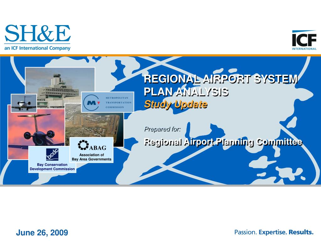 regional airport system plan analysis study update l.