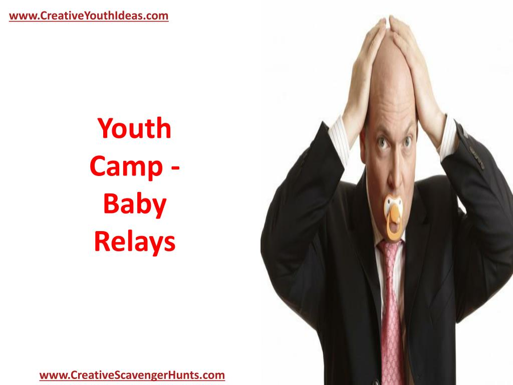 youth camp baby relays