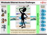 wholesale ethernet access challenges