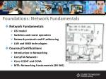 foundations network fundamentals6