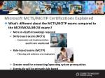 microsoft mcts mcitp certifications explained14