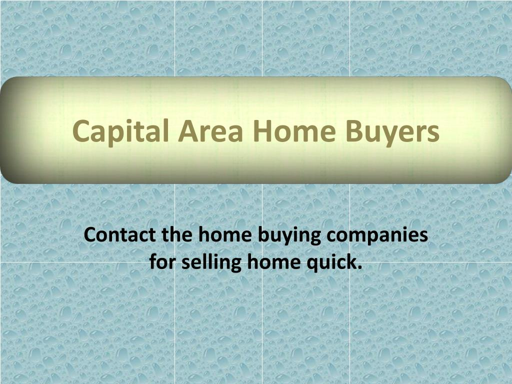 capital area home buyers l.