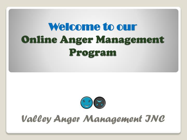 welcome to our online anger management program n.