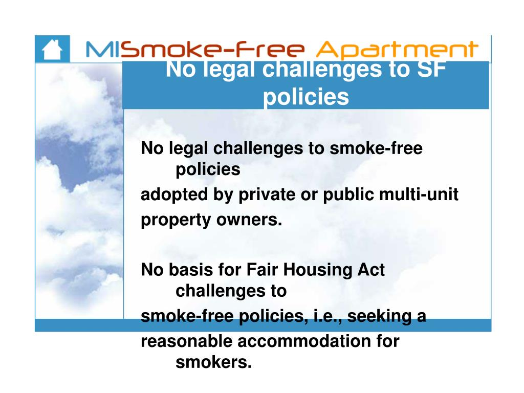 No legal challenges to SF policies