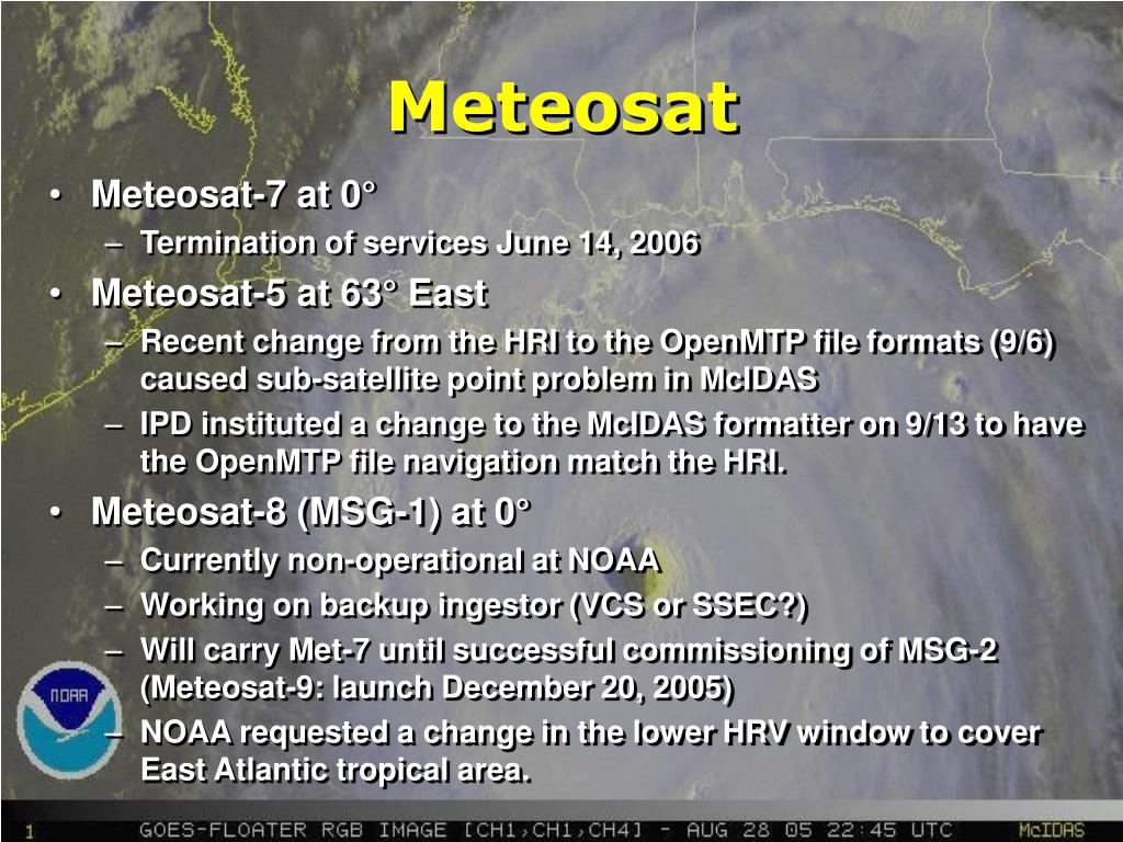 Meteosat-7 at 0°