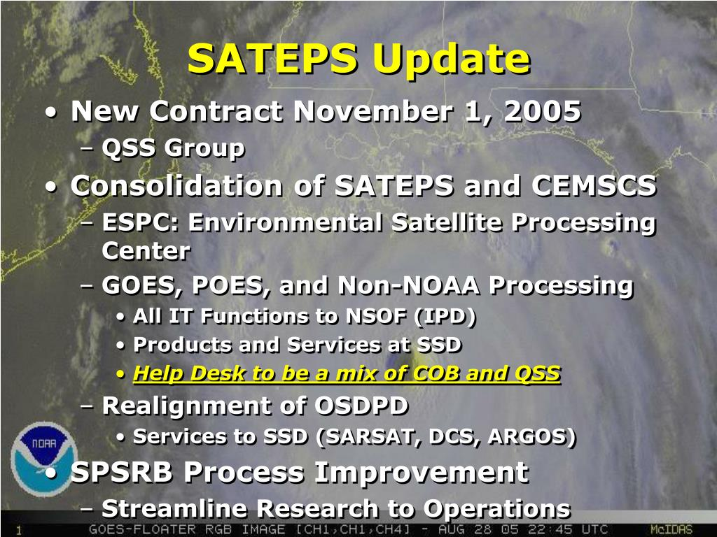 SATEPS Update
