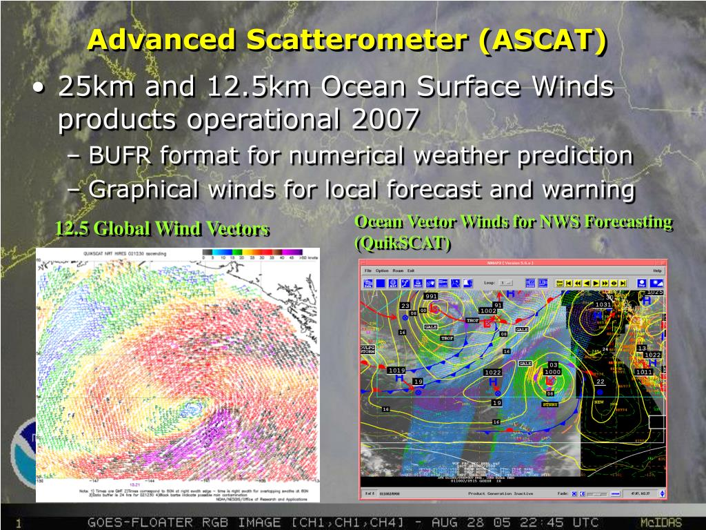 Advanced Scatterometer (ASCAT)