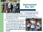 improvement era 1911